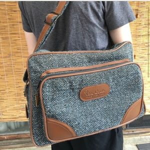Other - Tweed airport carry on/casual briefcase/laptop bag